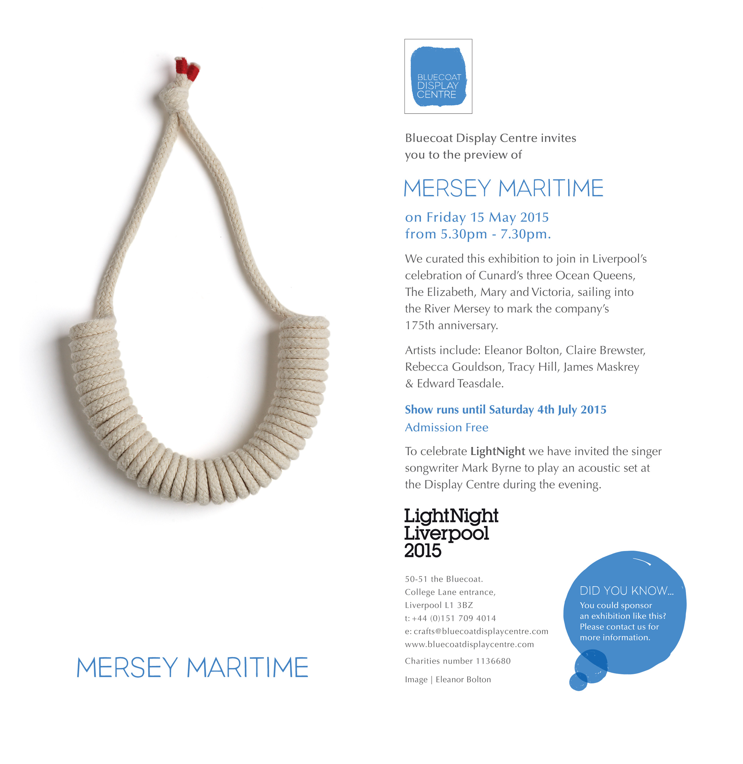 Mersey Maritime Email Invite
