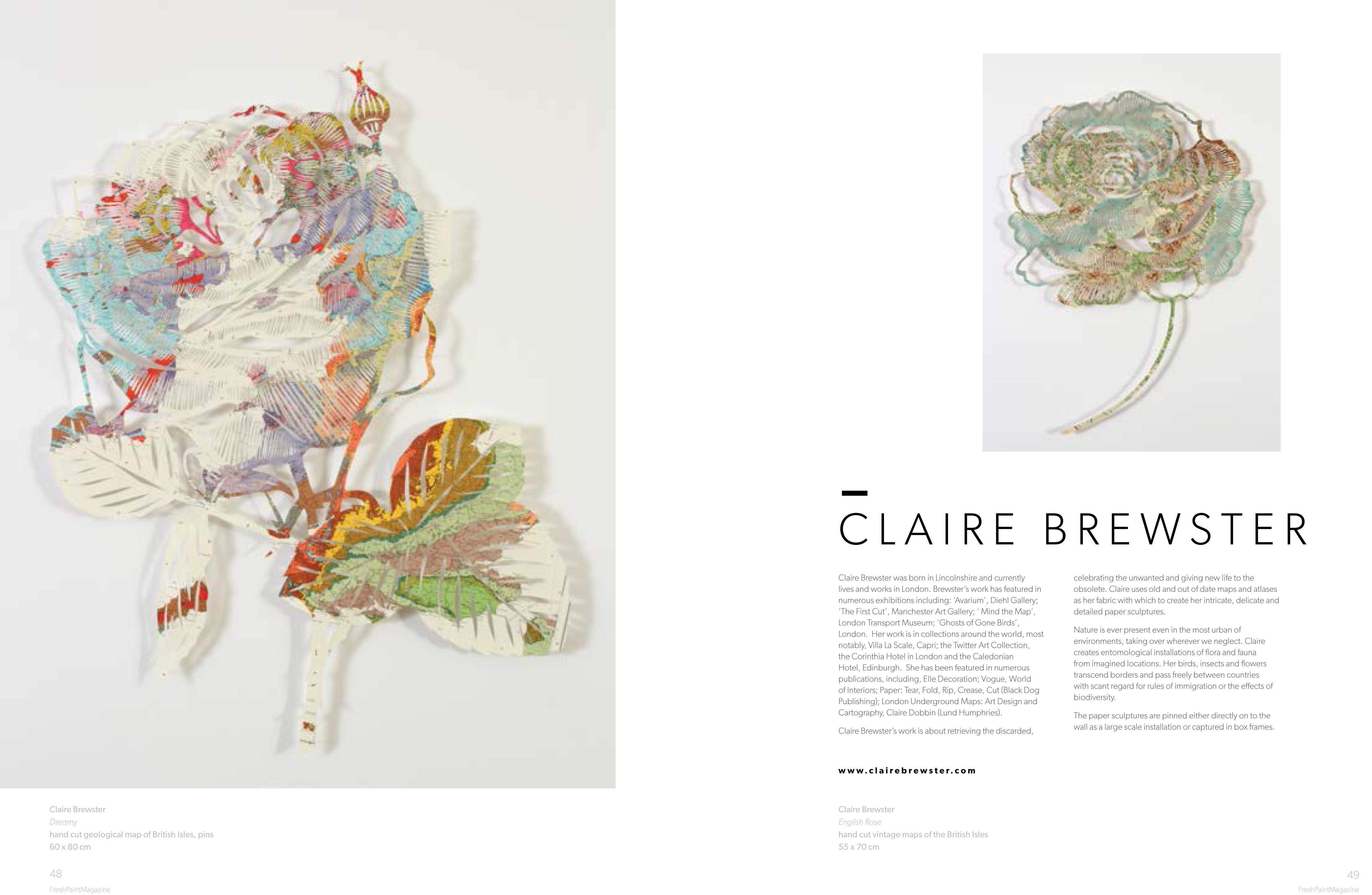 Clairebrewster FreshPaintMagazineissue13